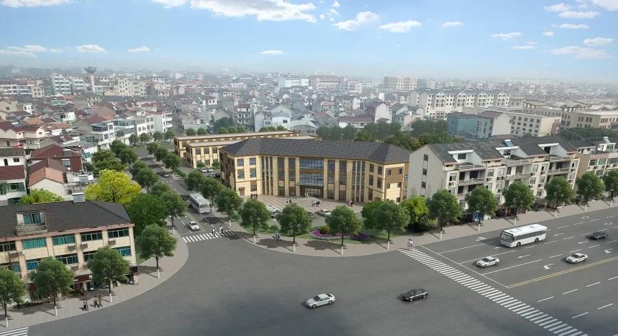 黄泽乡镇运输服务站设计方案