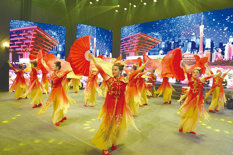 新濠天地游戏娱乐举办第二届音舞晚会