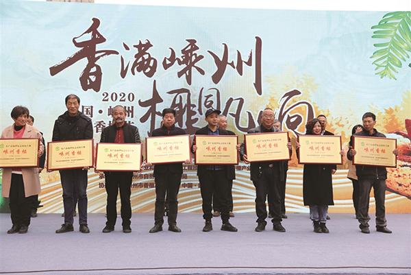 中国(嵊州)香榧节隆重举行