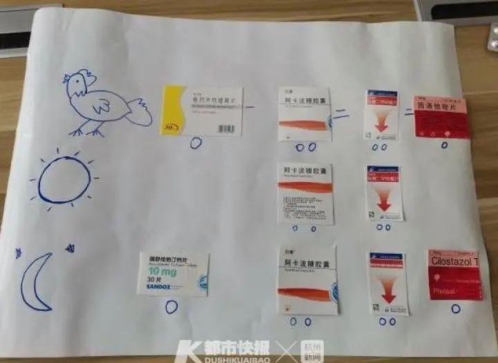 """太暖心!臺州醫生手繪的這張""""公雞下蛋圖""""火了"""