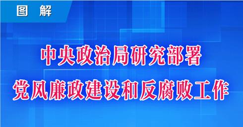 圖解丨中央政治局研究部署黨風廉政建設和反腐敗工作