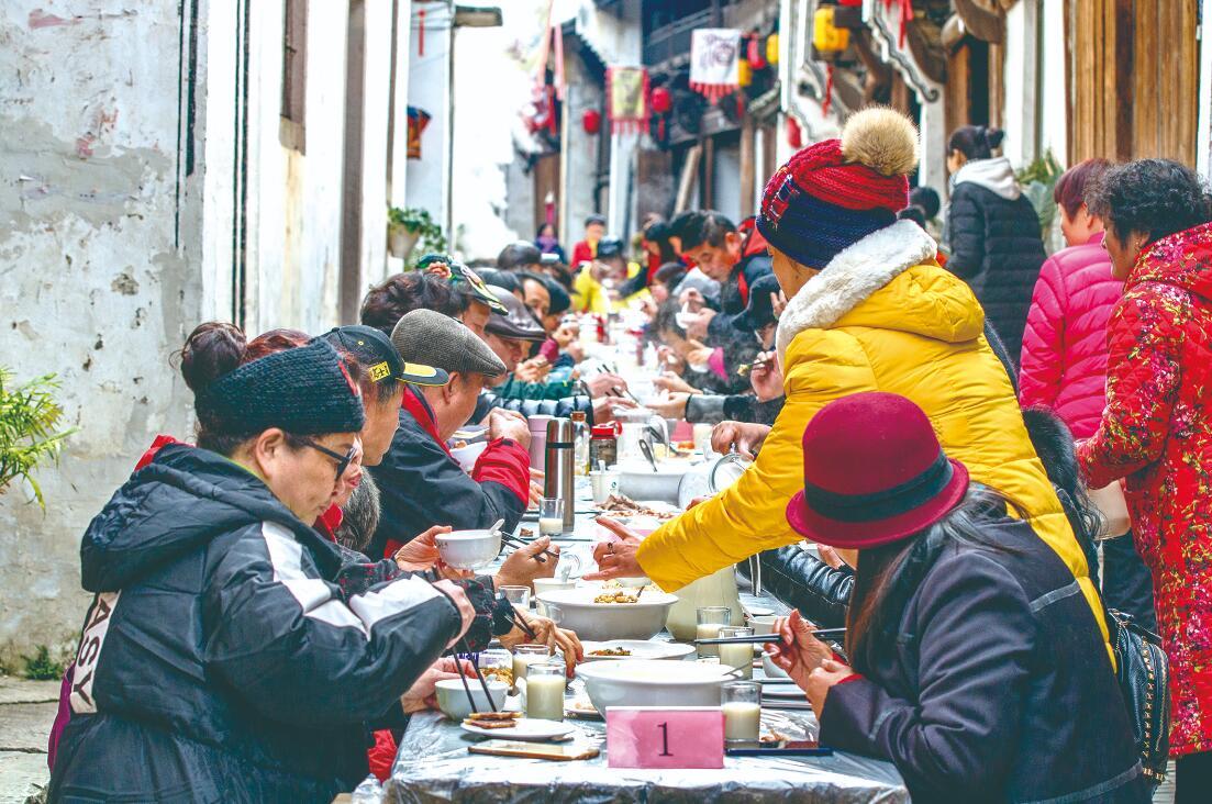 岭下豆腐宴 往事越千年