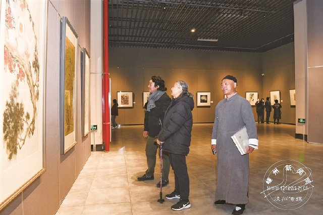 当代中国画名家邀请展开幕