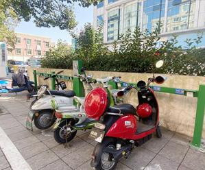 多路段增设充电桩扫码充电安全便民