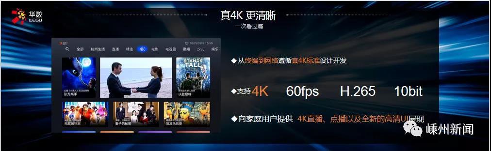 4K高清电视将走进我市千家万户