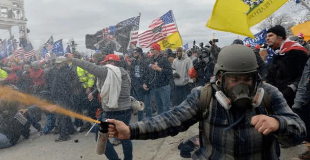 特朗普支持者攻占国会