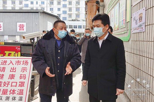 市领导分赴各地督查疫情常态化防控工作