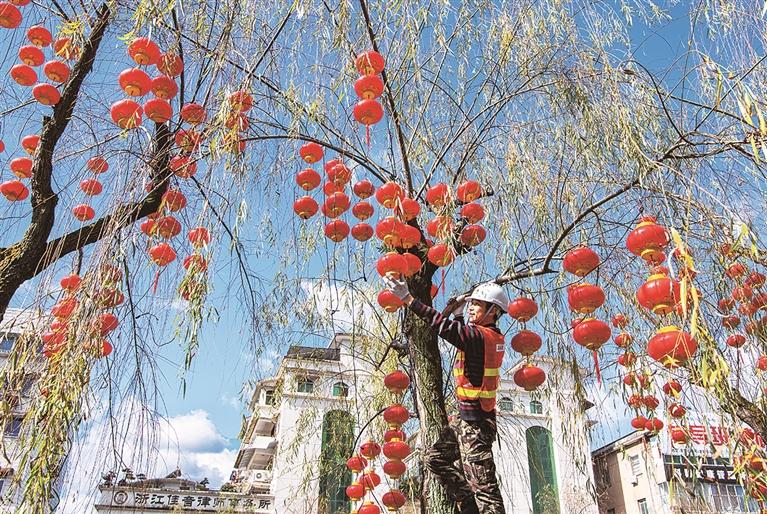 春节临近 年味越发浓郁