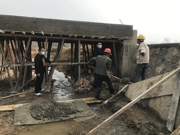 甘霖镇长安村: 推进水利工程建设 提升村民幸福感