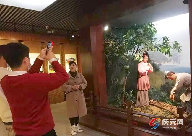 春节期间,我县两家博物馆开馆迎客