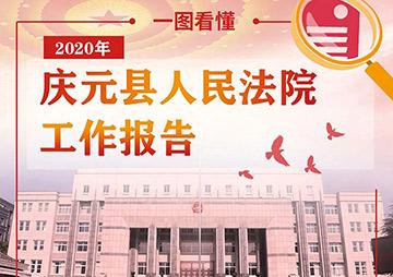 一图读懂庆元县人民法院工作报告