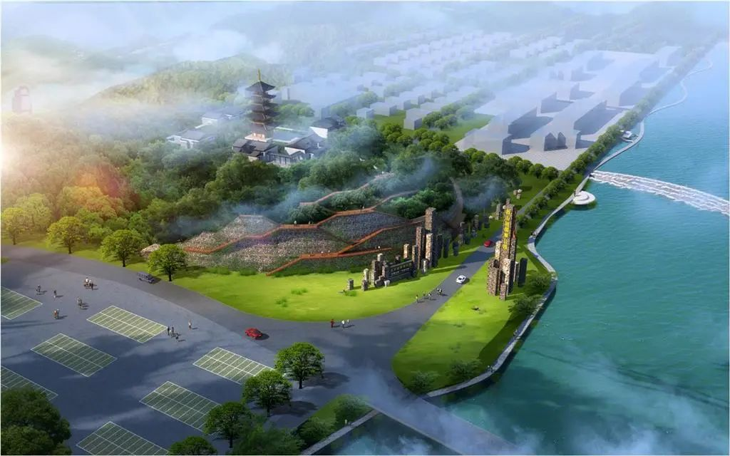 预计4月底完工!百山祖国家公园(龙泉)主入口加速建设中