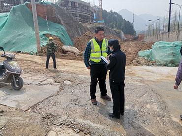 庆元县综合行政执法局开展建筑工地不文明施工专项检查