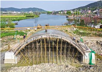 白马湖老桥重建
