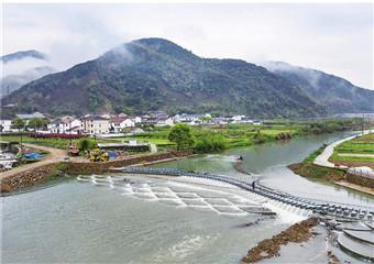 管溪再添两座水坝