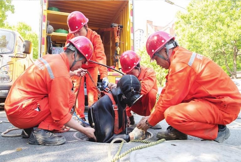 市政管理处开展排水抢险应急演练