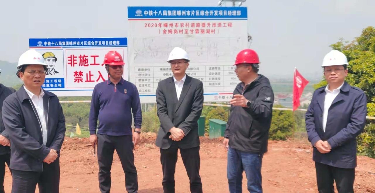 市领导分组督查重点建设项目