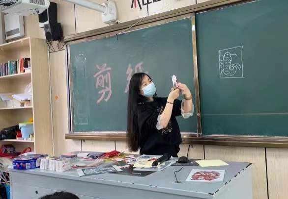 非遗进校园 文化永传承