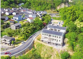 东澄村游客服务中心即将完工