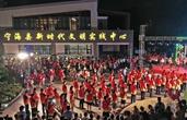 """宁波宁海""""文明实践夜市""""引领文明新风"""