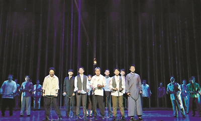 《红船·追梦》亮相首届长三角城市戏剧节