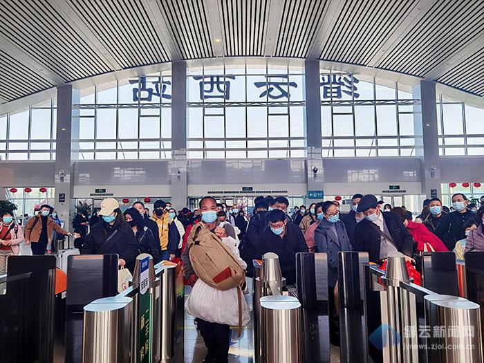 缙云西站2021年五一假期加开3趟列车