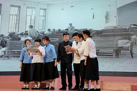 """我县举办""""致敬百年伟业 汇聚青春力量""""庆祝建党100周年主题团日活动"""