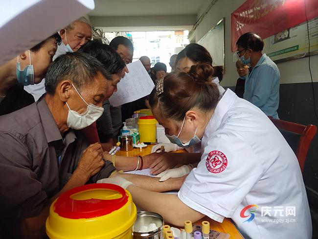 """松源街道社区卫生服务中心启动""""前列腺癌""""免费筛查项目"""