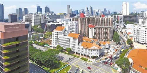 """国际货币基金组织作出""""健康""""诊断 新加坡经济加速转型"""