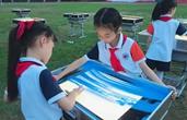 燃!杭州一小学的沙画创作刷屏了,沙画容易学吗?都谁在学?