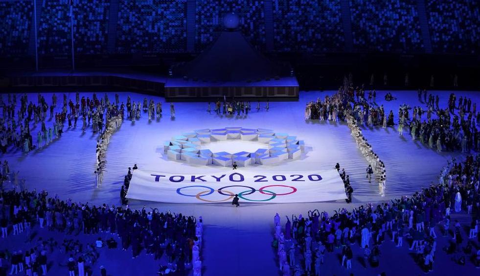 东京奥运会开幕式举行