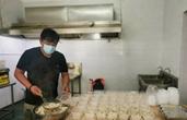 500份饺子、1000份盒饭 余姚两个饭店老板做了同一件事