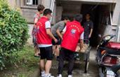 """近5万人次 14万余小时 防御台风""""烟花""""舟山志愿者在行动"""