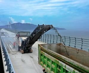 舟岱大桥已完成总工程量的96.7%