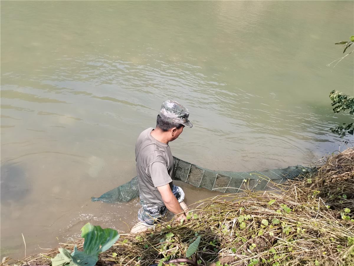 长虹乡多措并举开展护渔行动