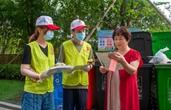 宁波海曙青年志愿者助力文明创建