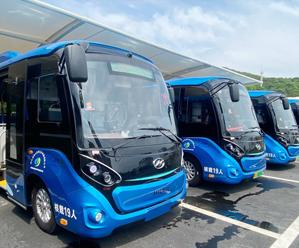 新能源电动微公交亮相 助力城区市民绿色出行