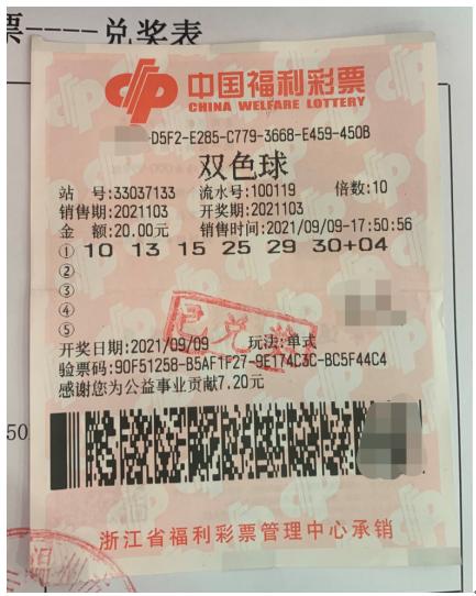 资深彩友倍投福彩双色球喜中230万元