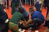 医疗装备展上有人心脏骤停 杭州这位中学老师紧急施救