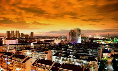 梧桐镇夜景