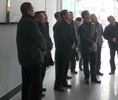 宁夏宁东能源化工基地管委会考察团到相公殿社区参观网格化管理工作