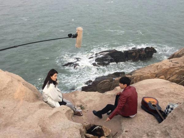 《欢乐颂2》剧组到花鸟岛取景拍摄
