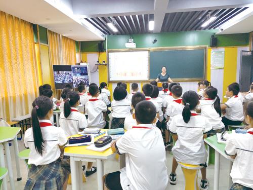 互动课堂让城乡共享优质教育资源